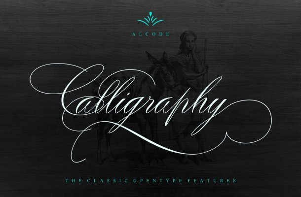 Peaches Calligraphic font