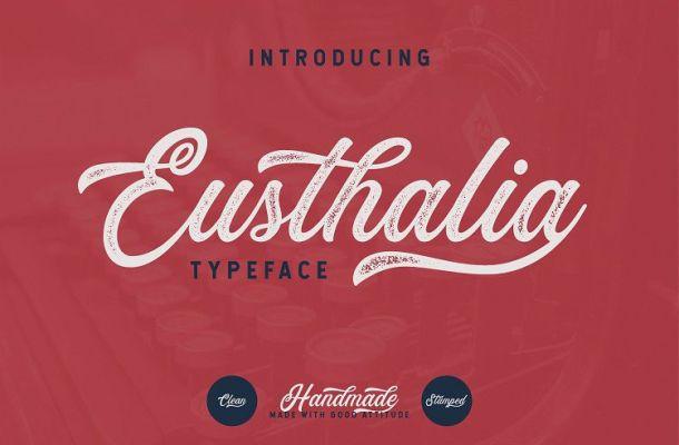 Eusthalia Script Font