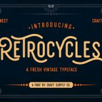Retrocycles Font