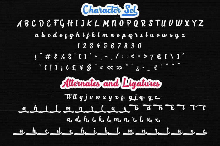 Rotterin Script Font-2