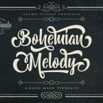 Bohemian Melody Font