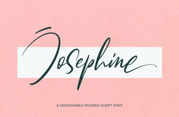 Josephine Script Font