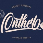 Onthel Calligraphy Font
