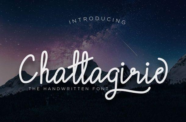 Chattagirie – Handwritten Font