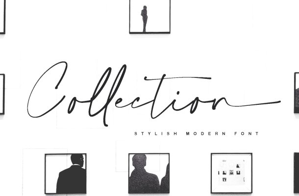 Collection Script Handwritten Font
