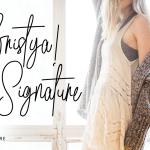 Bristya Signature Font