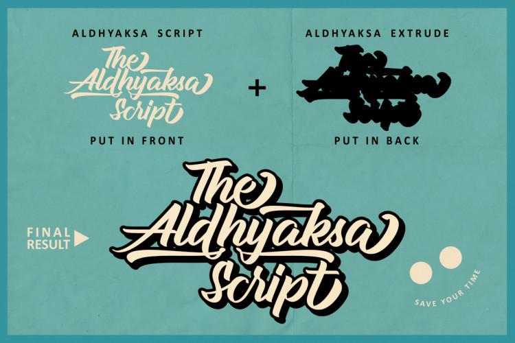 aldhyaksa-script-font-2