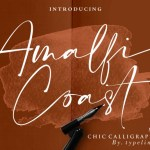 Amalfi Coast Calligraphy Font