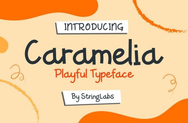 Caramelia Playful Font