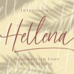 Hellena Handwritten Script Font
