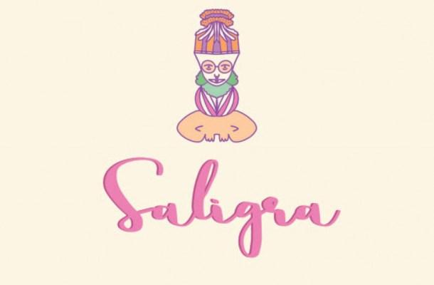 Saligra Script Font