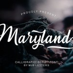 Maryland Calligraphy Font