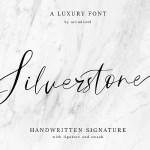 Silverstone Script Font