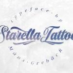 Starella Tattoo Script Font
