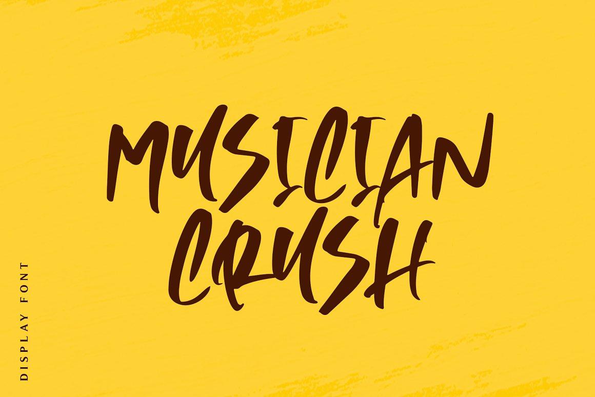 Musician-Crush-Font