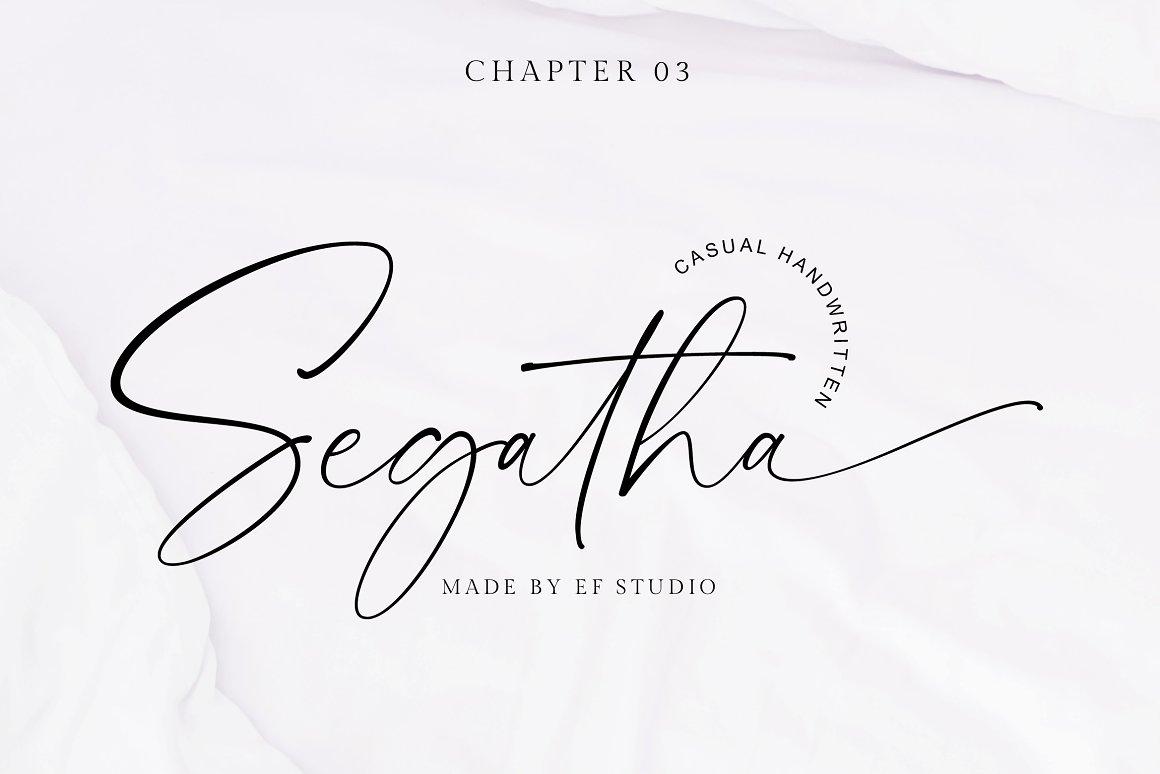 Segatha-Font