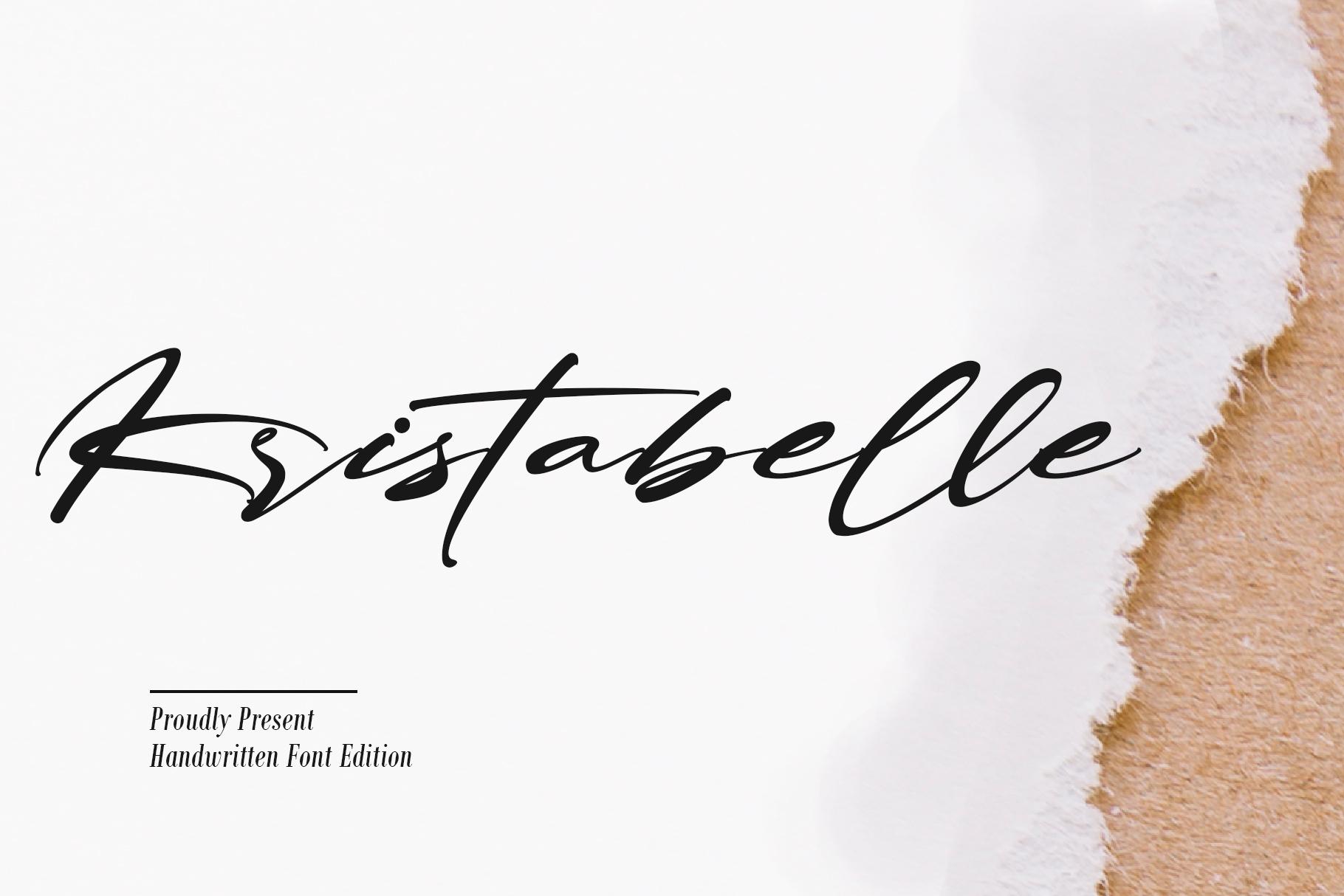 Kristabelle Font 1