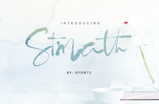 Stmath Calligraphy Font