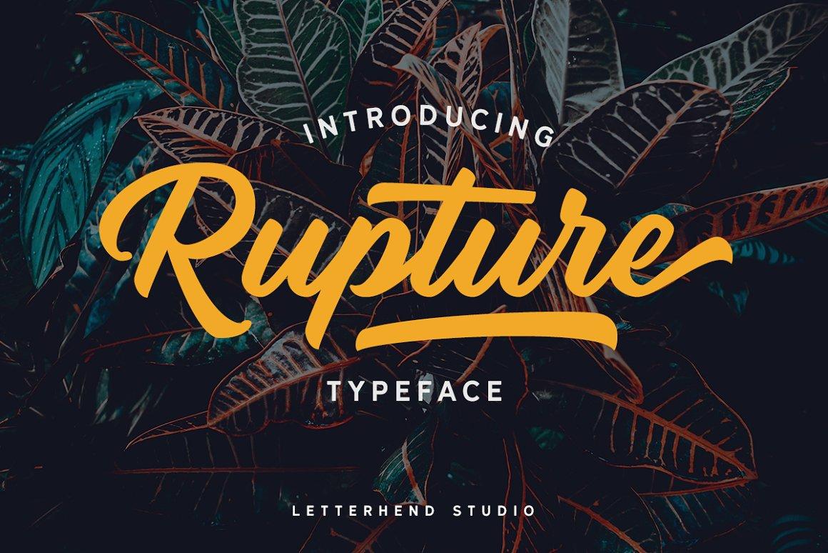 Rupture-Font
