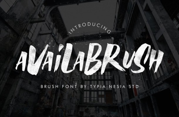 Availa Brush Font