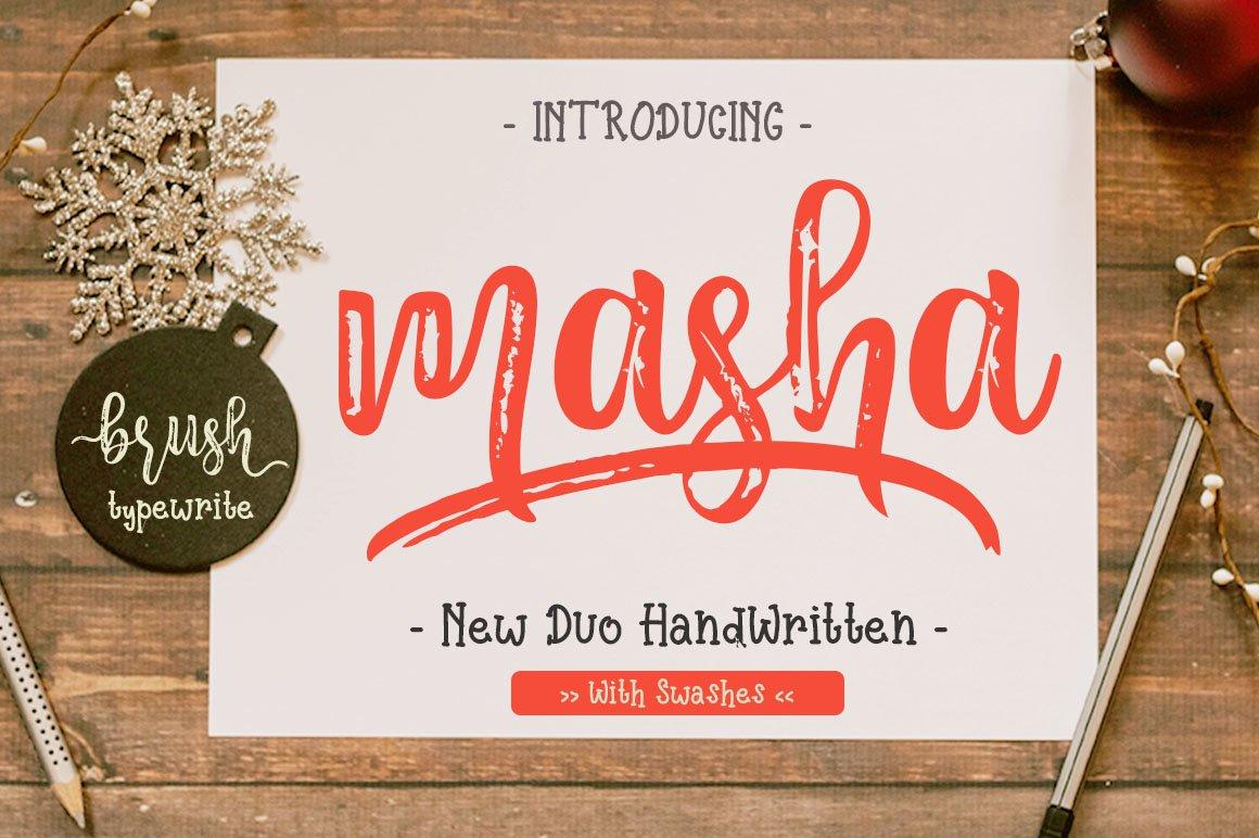 Masha-Font