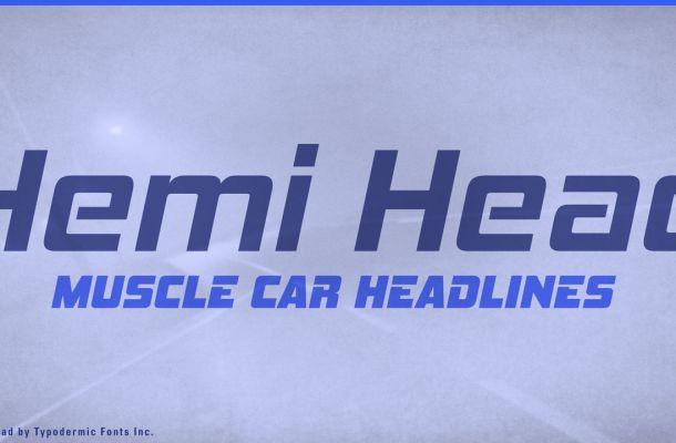 Hemi Head Font