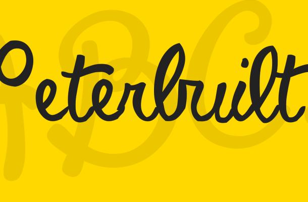 Peterbuilt Font