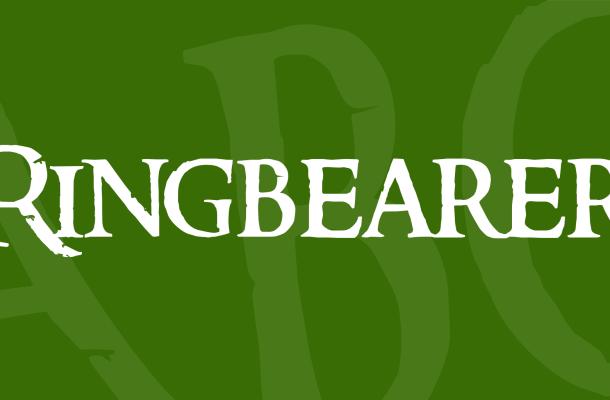 Ringbearer Font