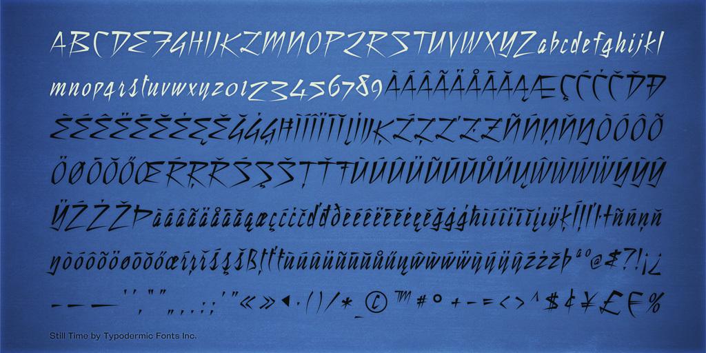 still-time-font-3