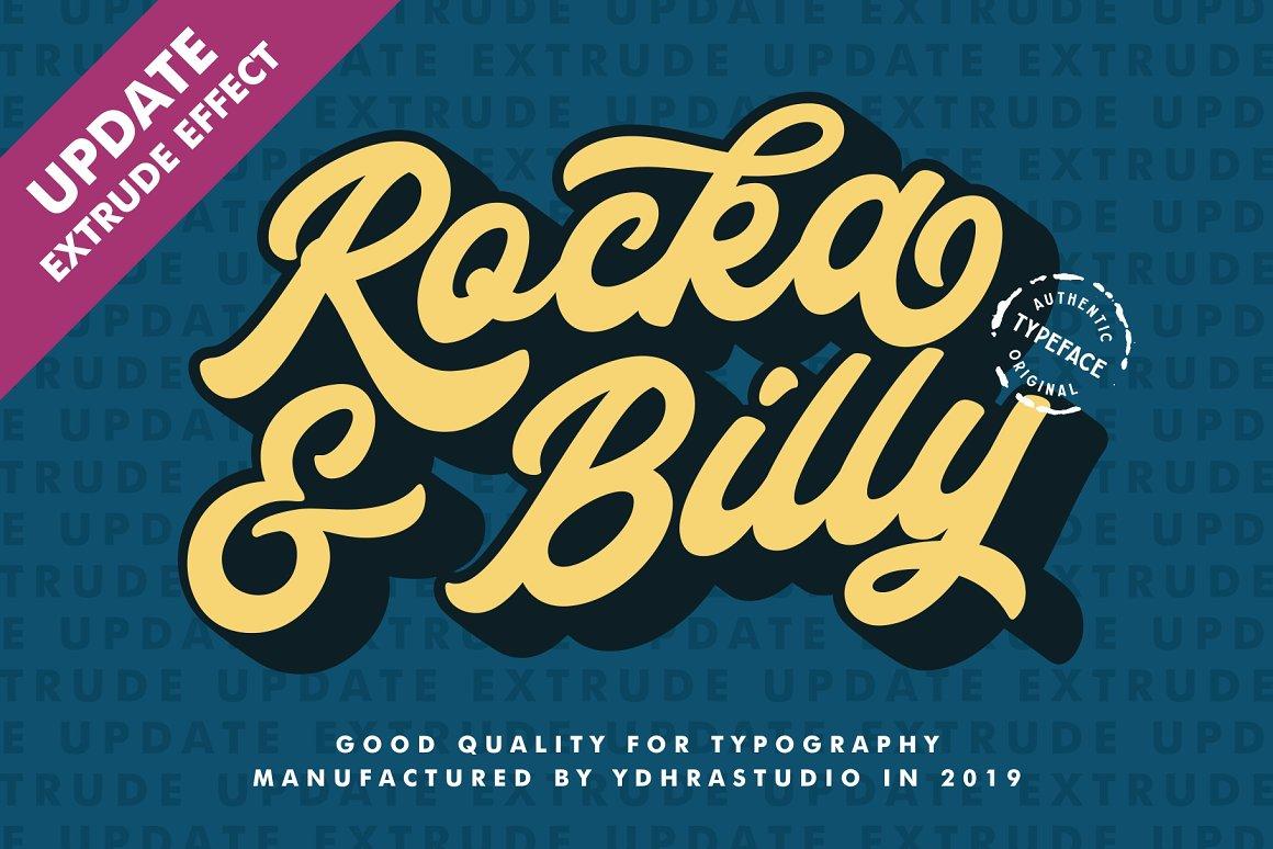 Rocka & Billy-Font