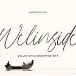 Welinside Script Font