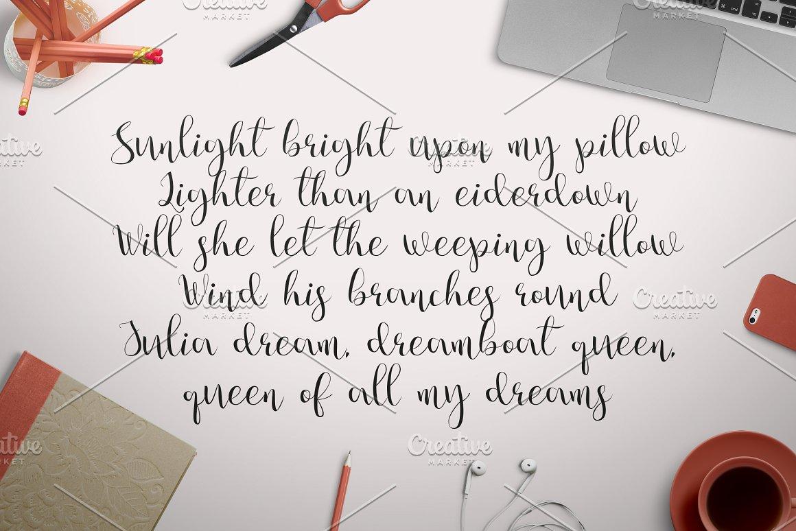 Julia's-Dream-Font-2