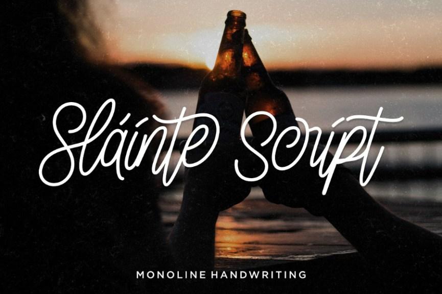 01-Slainte-Script-Free-Demo-Font