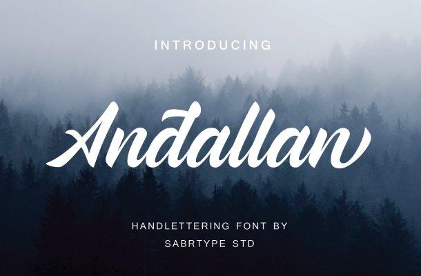 Andallan Script Font