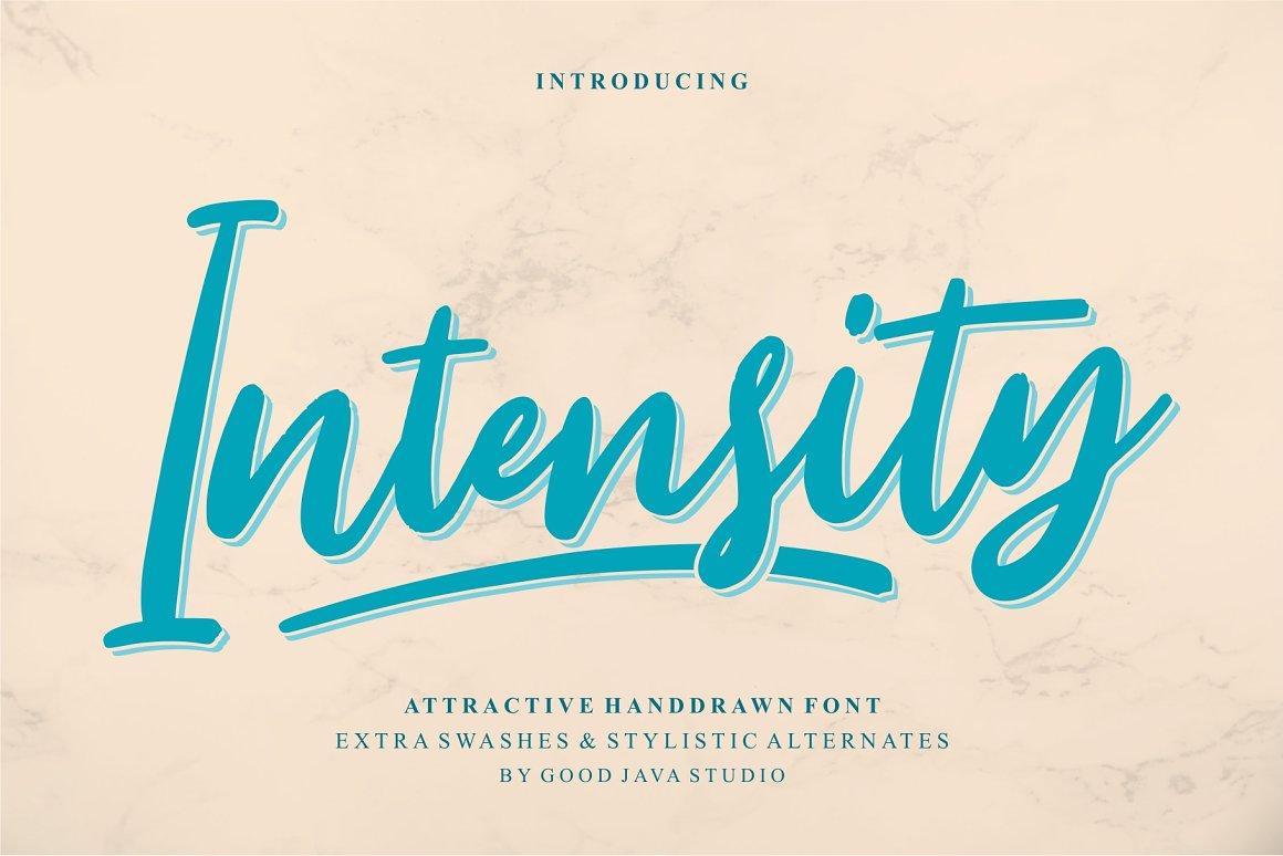 Intensity-Font