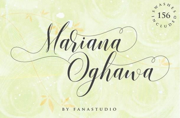 Mariana Oghawa Script Font