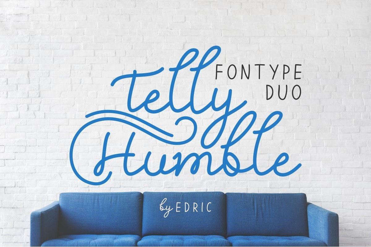 Telly-Humble-Font