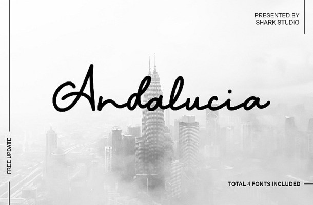 Andalucia Script Font