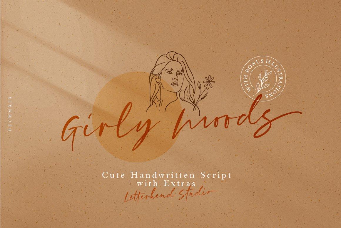 Girly-Moods-Font
