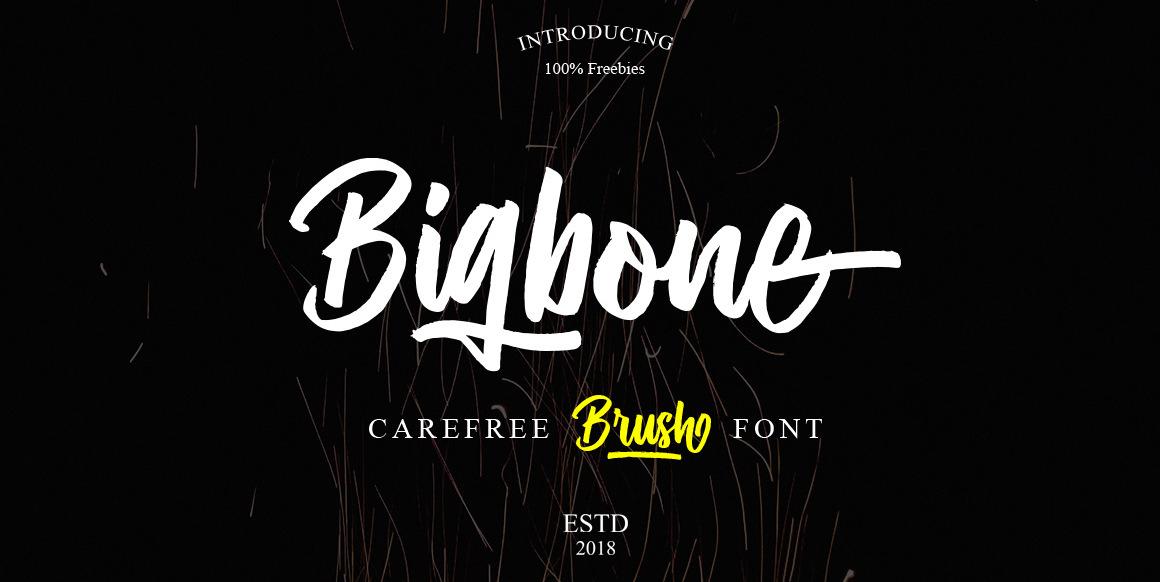 bigbone-font