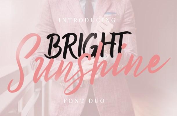 Bright Sunshine Script Font