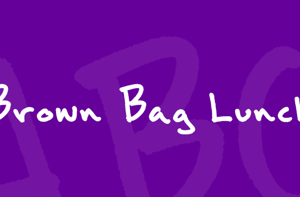 Brown Bag Lunch Font