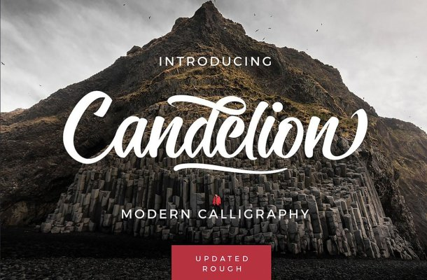 Candelion Script Font