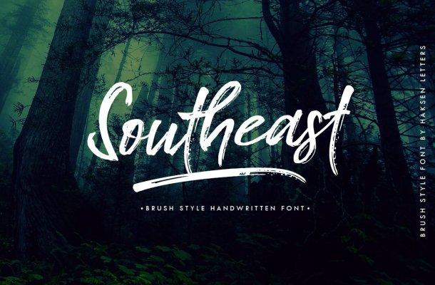 Southeast Brush Font