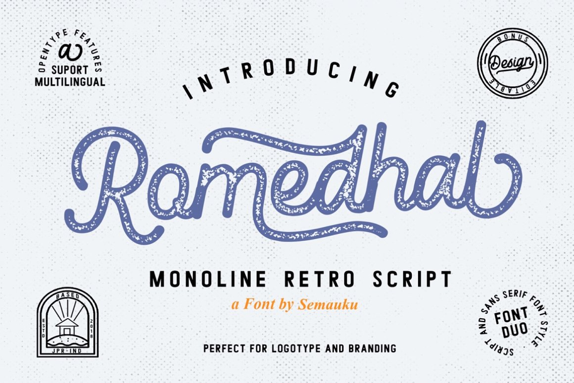 Romedhal-Font