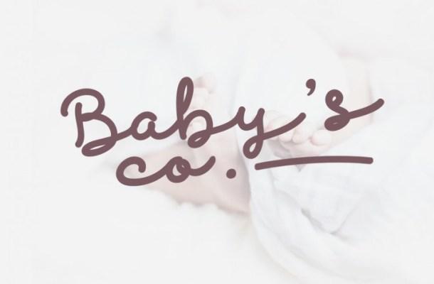 Discobaby Script Font