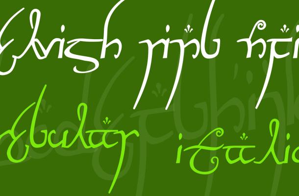 Elvish Ring NFI Font Family