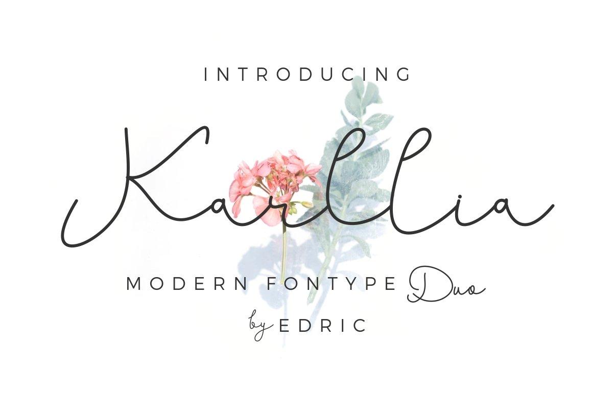 Karllia-Font