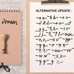 Lucky Dream Script Font