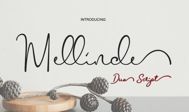 Mellinde Handwritten Font